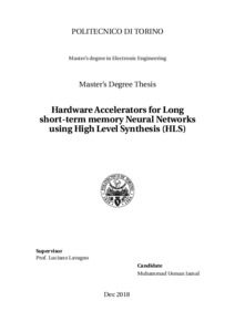 Hardware Accelerators for Long short-term memory Neural Networks